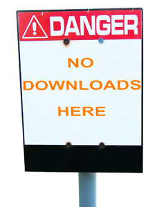 Danger No Android Downloads