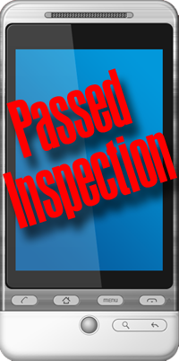 Android App Passed Inspection