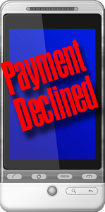 Android Payment Declined