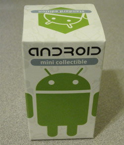 Box for Android figure from DYZ Plastic