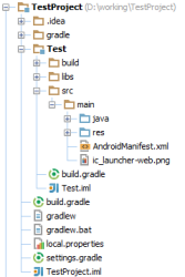 AndroidStudio_ProjectStructure